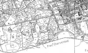 Mappa_catastale_di_Aosta_del_1930_dett_Castello_di_Montfleury